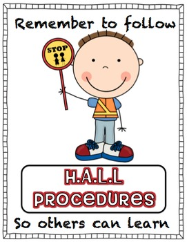 Hall Procedures Display