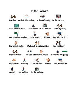 Hall Procedures Social Story