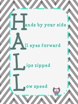 Hall Rules
