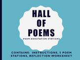 Harlem Renaissance: Hall of Poems:  Poetry Literary Device