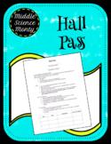 Hall/Bathroom Pass