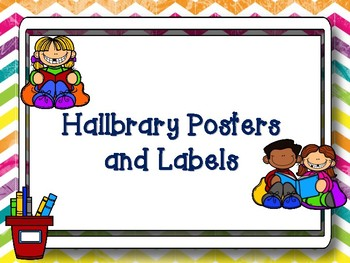 Hallbrary Poster and Labels