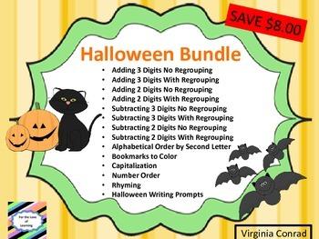 Halloween Bundle--- Activities Ready to Go!