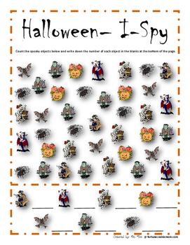 Halloween Activities Pack {English}
