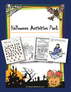 Halloween Activities Pack {English}