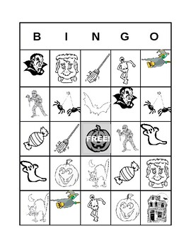 Hallowe'en Bingo