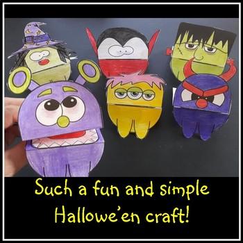 Hallowe'en Hand Puppets