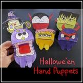 Hallowe'en Crafts - Hand Puppets