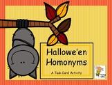 Hallowe'en Homonyms