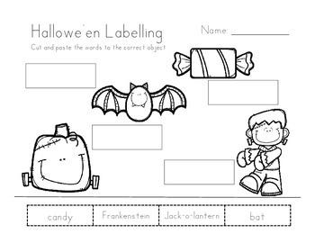 Hallowe'en Labelling