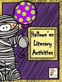 Hallowe'en Literacy Activities