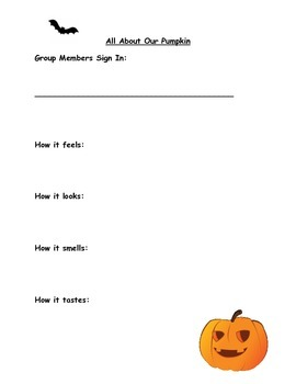 Hallowe'en Pumpkin Carving Collaborative Project