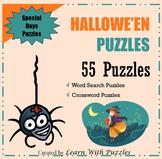 Hallowe'en Puzzle Collection - 55 UNIQUE Hallowe'en Puzzle