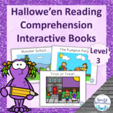 Hallowe'en Reading Comprehension adapted books (Level 1)