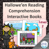 Hallowe'en Reading Comprehension adapted books (Level 2)