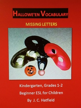 Hallowe'en Vocabulary Missing Letters