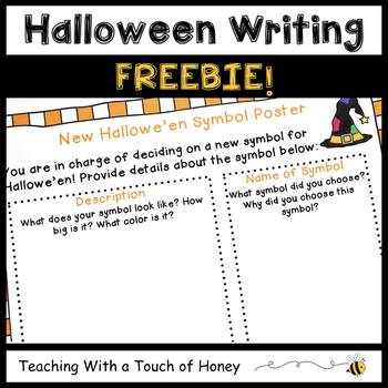 Writing Activity FREEBIE - Halloween