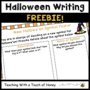 Writing Center | Writing Center Activity | Halloween Writing Activity | FREEBIE
