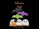 Halloween Math (Additional Activities)