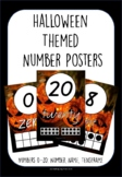 Halloween 0-20 Number Posters, Name, Number, Tensframe ACARA C2C