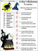 Halloween Activities: Arthur's Halloween Activity Packet