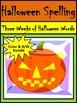 Halloween Activities: Halloween Spelling & Words Bundle
