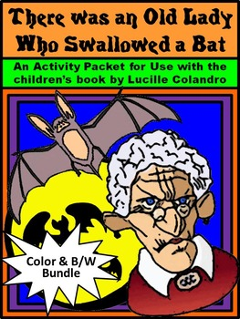 Halloween Activities: Old Lady Who Swallowed a Bat Halloween Activity Packet