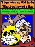 Halloween Activities: Old Lady Who Swallowed a Bat Halloween Activities  Bundle