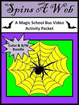 Halloween Activities: Creepy Crawly Fun Magic School Bus Video Activities