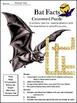 Halloween Activities: Bat Facts Halloween  Science Activit