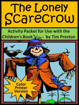 Halloween Activities: The Lonely Scarecrow Activity Packet