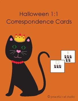 Halloween 1:1 Correspondence Cards