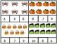 Halloween 1:1 Correspondence Clip Cards