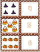 Halloween 1-10 Cards ~ 1:1 Correspondence, Subitize, Numeral Recognition
