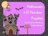 Halloween 1-10 Number Puzzles