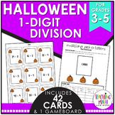 Halloween 1-Digit Division Game