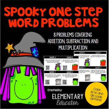 Word Problems: Halloween Theme