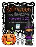 Halloween 10 Frames Free