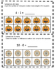 Halloween 10 Frame Adding Counting Subtraction Special Education Math