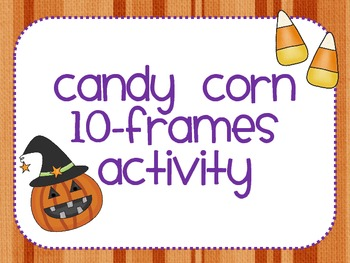 Halloween 10-Frames Activity