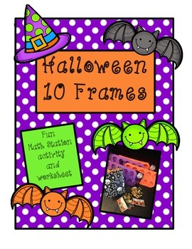 Halloween 10 Frames - Fun Math Station
