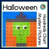 Halloween 100s Chart Activities | No prep worksheets