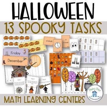 Halloween - 13 Math Tasks