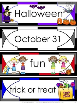 Halloween Activities: Halloween Math Worksheets and Halloween Literacy