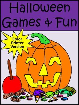 Halloween Game Activities: Halloween Games and Fun