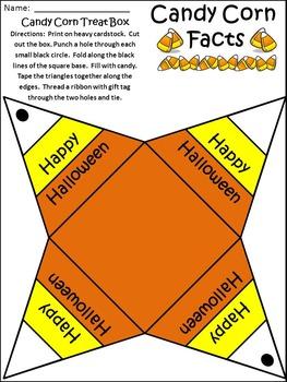 Halloween Activities: Candy Corn Facts Activity Packet