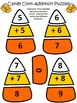 Halloween Activities: Candy Corn Addition Puzzles Halloween Math Activity Bundle
