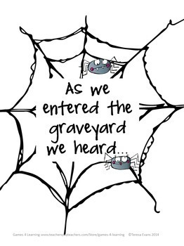 Halloween Writing Activity: Spooky Story Starters for Halloween Writing Prompts