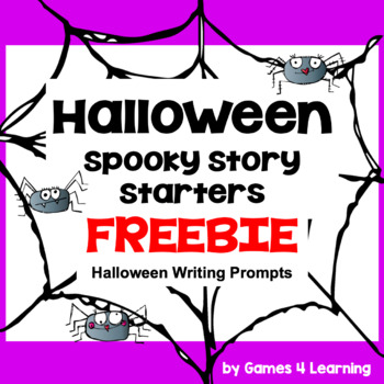 Halloween Activities: Free Halloween Writing Prompts Spooky Story Starters