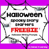 Halloween Activities: Free Halloween Writing Prompts Spooky Story Starters